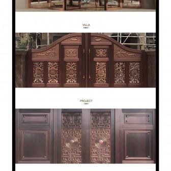 铜门厂网站 - pic1